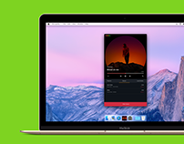 Mac OS Music player
