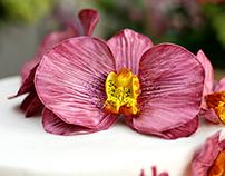 Orchids Flower Fondant