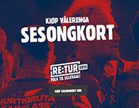 Vålerenga / Responsive campaign site