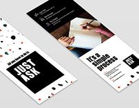JustASK-Flyer Design