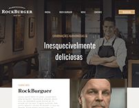RockBurguer - Estudo de Landing page