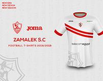 Zamalek S.C football T-shirts 2018/2019