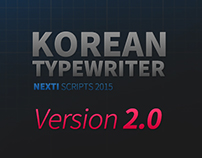 Korean Typewriter Ver. 2 - aeScript