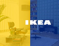 IKEA Website Redesign Concept