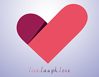 Live Laugh Love - Logo Design