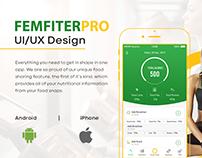 Food Nutrition App UI/UX