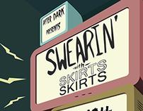 Swearin' Poster
