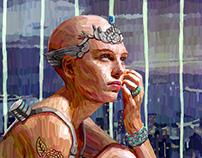 The Imprisoned Goddess (Character Design)