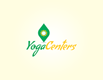 Yoga Centers Logo Design