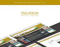 Palladium Hotel Group Redesign | UX & UI