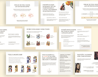 Presentation for beauty products sales company
