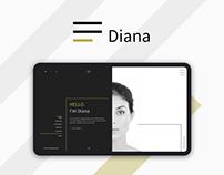 Clothes Designer - Landing Page