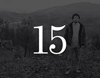 15 memórias do fogo