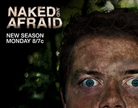 Naked and Afraid Ads