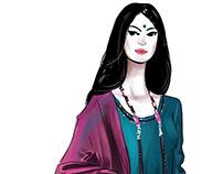 Jaypore.com Fashion Illustrations