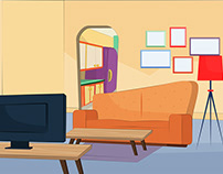 Living rooms ( illustrations)