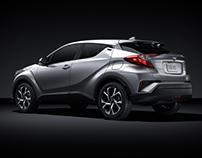 Toyota C-HR // CGI