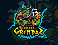 Grom Peak Grindaz logo.