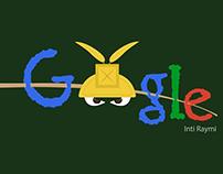 Google Doodle for INTI RAYMI (Sun Festival)