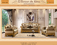 EL RINCON DE ALMA | DISEÑO WEB HTML Y CSS