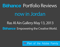 Behance Portfolio Review #3 Jordan