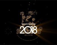 Carte de Voeux ALTEN 2018