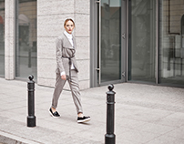 "Street Fashion ""Gray"""