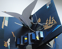 Moby-Dick pop-up book