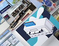 Manolis Retail Store Branding
