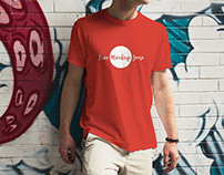 Free Outdoor Boy Wearing TShirt Mockup