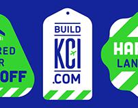 Build KCI Construction Branding