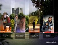 2016 Virginia Tech Welcome Center Kiosk Design