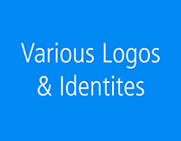 A collection of logos and identities.