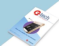 G tech Magazine redesign