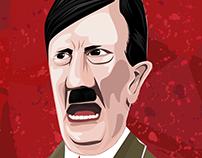 The Führer - Hitler illustration