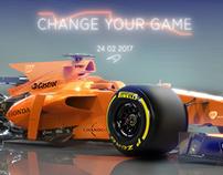 McLaren- Honda 2017 Car Concept B