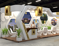 SOBHA Ltd. Exhibition Design for Indian Property Show.