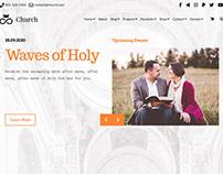 Slider - Church WordPress Theme