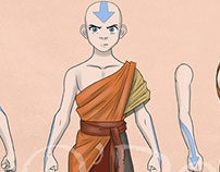 Avatar The Last Airbender Action Figures Wave One
