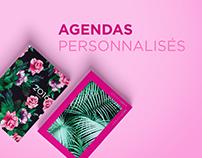MISE EN PAGE | Agendas personnalisés
