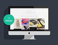 Bouncy - One Page Digital Agency Template | Freebie