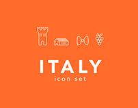 Italy / Free icon set