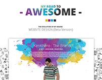 KenKhero : Website Design (Beta)