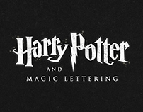 Harry Potter and Magic Lettering