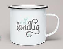 """""""Det landlig liv"""" logo design."""
