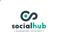 Social Hub Company Logo & Branding