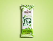 Vegan bar packaging design