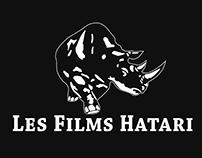 FILMS HATARI - logo clean & anim