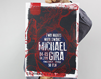 Michael Gira in Poland Concert Poster