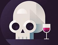 Skull & Wine